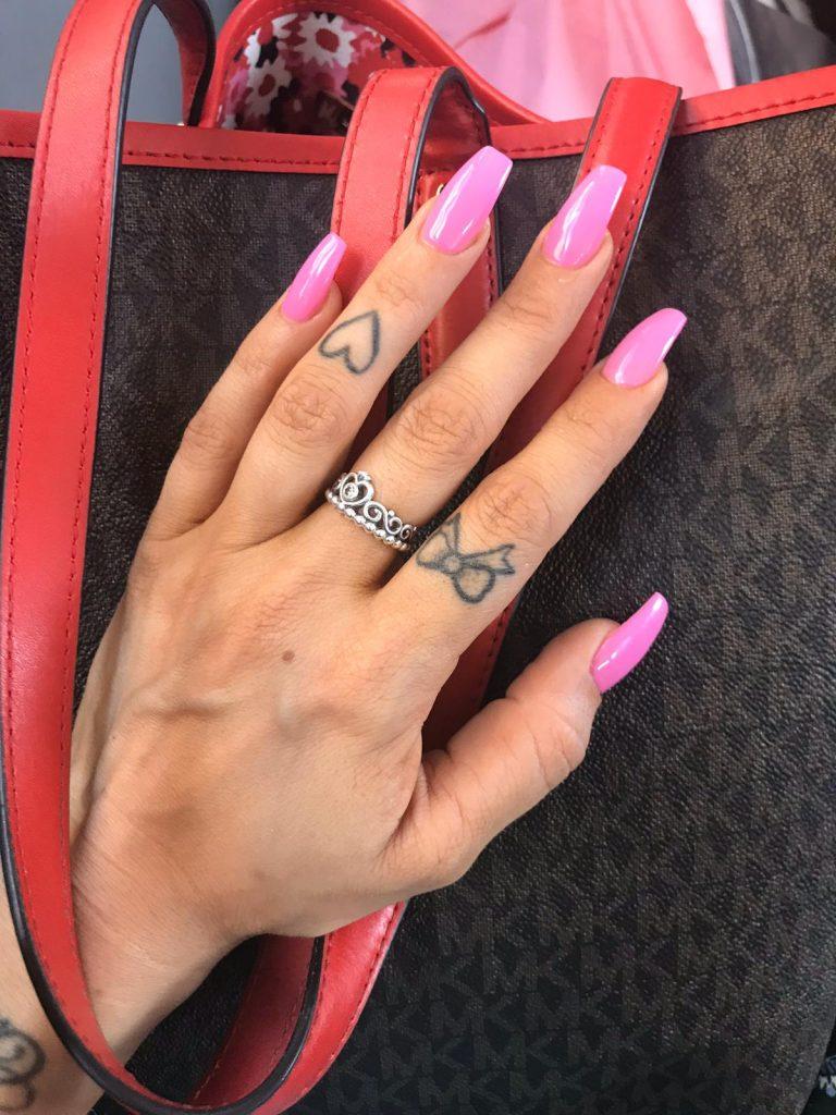 Hot Pink Summer Acrylic Nails, Coffin Acrylic Nails, Hot Pink, Photo Party London, Summer Nails, Bromley